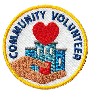 Youth Squad Community Volunteer Patch