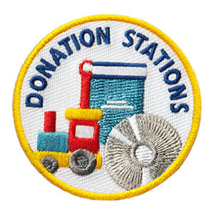 enrichment Patch Program®  Youth Squad® Donation Stations Patch