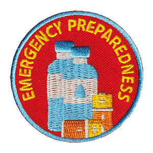 Emergency Preparedness Service Patch Program® from Youth Squad