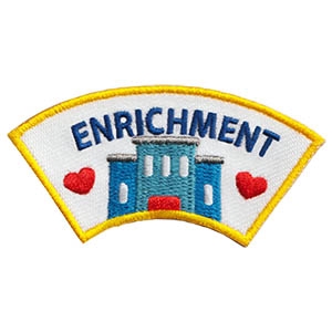 enrichment Patch Program®  Youth Squad® Enrichment Advocate Patch