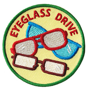 Eyeglass Drive Service Patch Program® from Youth Squad®