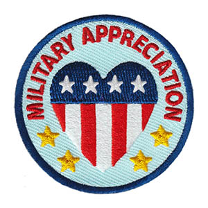Military Appreciation Service Patch Program® from Youth Squad®