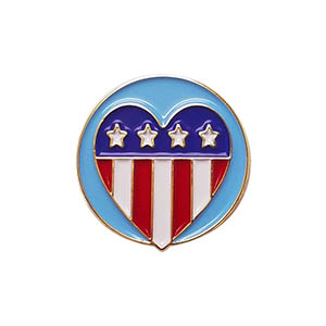 Patriotism Delegate Pin for Community Service from Youth Squad®