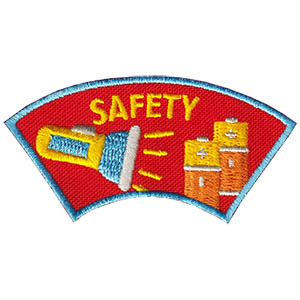 Youth Squad Safety Advocate Patch
