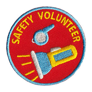 Youth Squad Safety Volunteer Patch