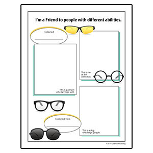 Youth Squad® Eyeglass Drive Worksheet