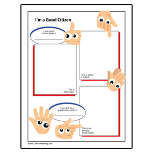 Youth Squad® Good Citizen Review Worksheet