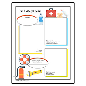 Youth Squad® Emergency Preparedness Worksheet